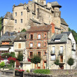 Estaing village in Southern France, landscape view — Stock Photo
