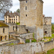 Couches castle, Saone-et-Loire, Burgundy — Stock Photo