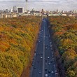 Berlin in Autumn, shot from Siegessaule — Stock Photo #22449219