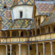 Famous hospice in Beaune, Burgundy, France — Stock Photo #22530721