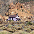 View of Shrine of Virgen de Las Nieves in Teide National Park, Canary Islands — Stock Photo #22534495