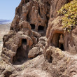 Cuatro Puertas, four doors, archaeological site in Gran Canaria - Stock Photo