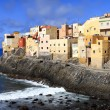 Stock Photo: El Roque de SFelipe, GrCanaria, Canary Islands