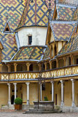 Famous hospice in Beaune, Burgundy, France — Stock Photo
