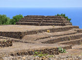 Guanches step pyramids de Guimar, Tenerife — Stock Photo