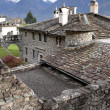 Old monastery in Monastero di Berbenno, Valtellina, Italy - Stock Photo