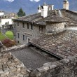 Stock Photo: Old monastery in Monastero di Berbenno, Valtellina, Italy
