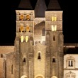 Stock Photo: Basilicdu Sacre Coeur in Paray-le-Monial, night shot