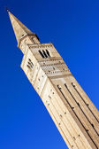 Saint Mark famous bell tower in Pordenone, Italy — Stock Photo