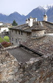 Old monastery in Monastero di Berbenno, Valtellina, Italy — Stock Photo