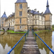 Stock Photo: Medieval chateau of Sully, France