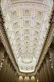 Interior view of Basilica Del Santo, ceiling, San Marino, Republic San Marino — Stock Photo