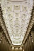 Interior view of Basilica Del Santo, ceiling, San Marino, Republic San Marino — Stock Photo