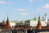 Kind on Moscow Kremlin — Stock Photo