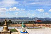 Simboli del buddismo nella regione asiatica — Foto Stock
