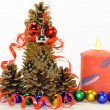 Hello Christmas tree, New year — Stock Photo #34629819