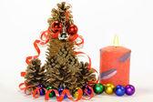 Hello Christmas tree, New year — Stock Photo