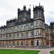 Downton Abbey (Highclere Castle) — 图库照片