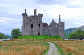 Kilchurn Castle Ruins in Scotland — Stock Photo