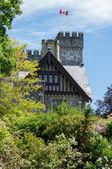 Hatley Castle (aka X-Men school) — Stock Photo
