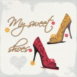 My sweet shoes — Stock Vector #31563307