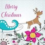 Colorful Christmas — Stock Vector