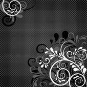 Background in black — Stock Vector