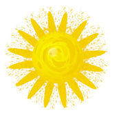 Abstract Sun — Stock Vector