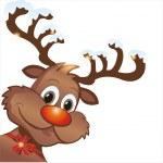 Funny reindeer — Stock Vector #33964177
