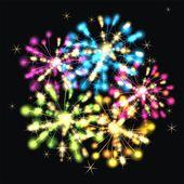 Beautiful vector firework — Vecteur