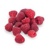 Ripe raspberries isolated  — Stock Photo