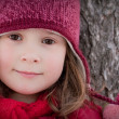 Stock Photo: Little winter girl
