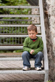 Sad little boy — Stock Photo