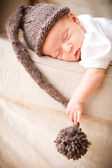 Newborn baby boy — Stock Photo