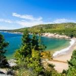 Beach in Acadia National Park — Stock Photo