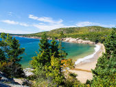 Beach in Acadia National Park — Stock Photo