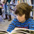 Boy reading a book — Stock Photo #23494517