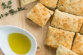 Focaccia bread — Stock Photo