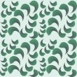 Stockvector : Seamless background of green petals