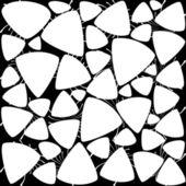 Modern black and white wallpaper 2 — Stock Vector