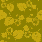 Seamless texture vintage with flowers — Wektor stockowy