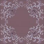 Vintage floral frame — Stock Vector #40204329