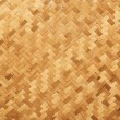 Straw background, basket weave, texture. — Stock Photo