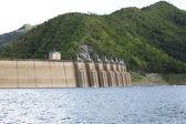 Bhumibhol dam on North of Thailand — Stock Photo