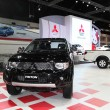 Stock Photo: NONTHABURI - NOVEMBER 28: Mitsubishi TRITON car on display at Th