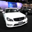 NONTHABURI - NOVEMBER 28:Mercedes-Benz C200 CGI car on display a — Stock Photo #37733305