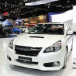 NONTHABURI - NOVEMBER 28: Subaru Legacy car on display at 30 — Stock Photo #37734619