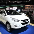 NONTHABURI - NOVEMBER 28: Hyundai Tucson car on display at 3 — Stock Photo #37735581