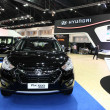 NONTHABURI - NOVEMBER 28: Hyundai Tucson car on display at 3 — Stock Photo #37735719