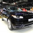 Stock Photo: NONTHABURI - NOVEMBER 28: Range Rover All New Range Rover Sp